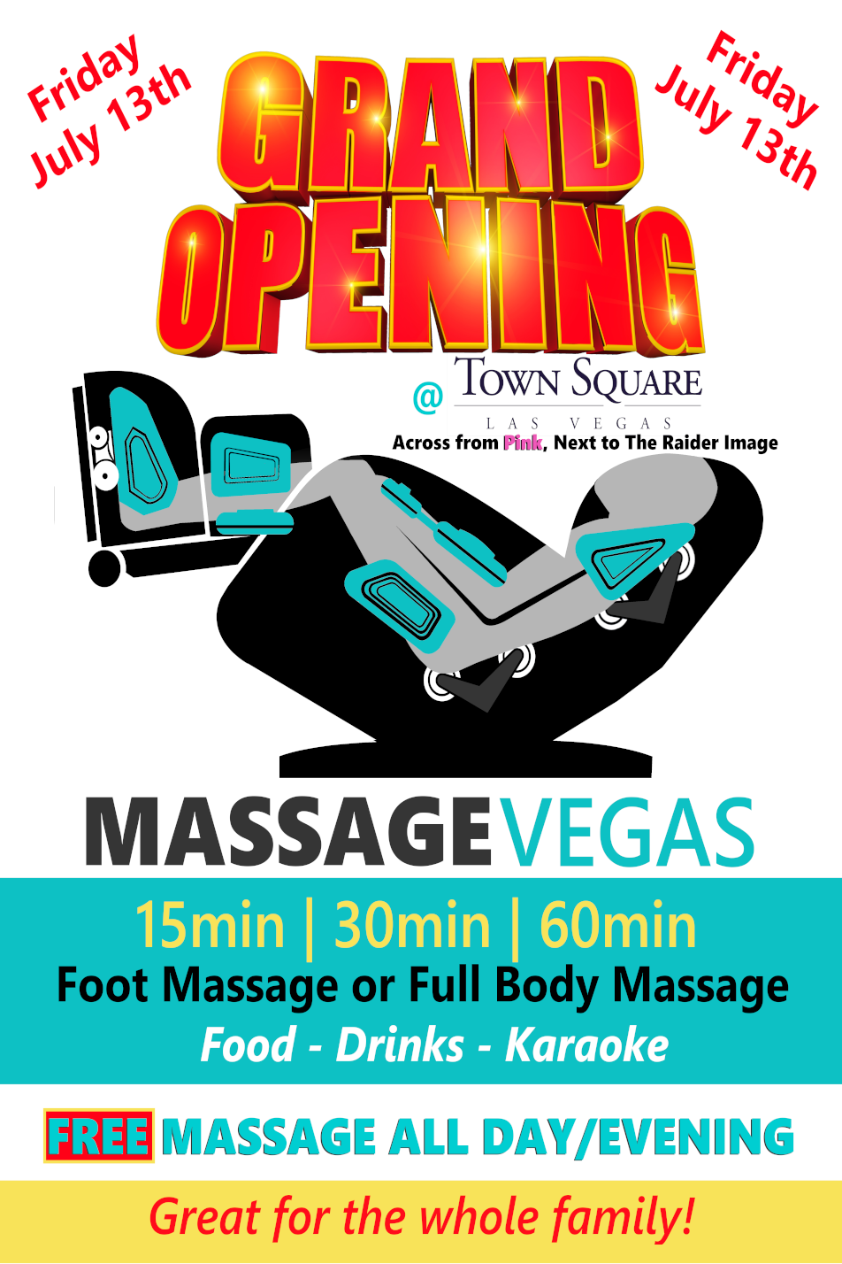 Massage Vegas @ Town Square